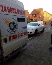 24HOUR MOBILE TYRE EMERGENCY FITTER FITTING REPLACEMENT SERVICES PUNCTURE FLAT TYRES SERVICE LONDON