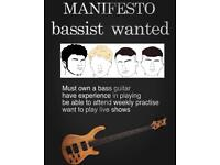 Looking for bassist