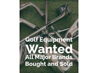 Golf Clubs and Equipment Wanted