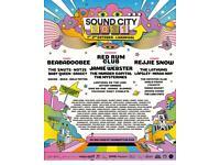 Liverpool Sound City 2x Weekend Tickets