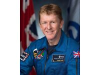 2 x Tim Peake: Ask An Astronaut at The Barbican 24th Oct