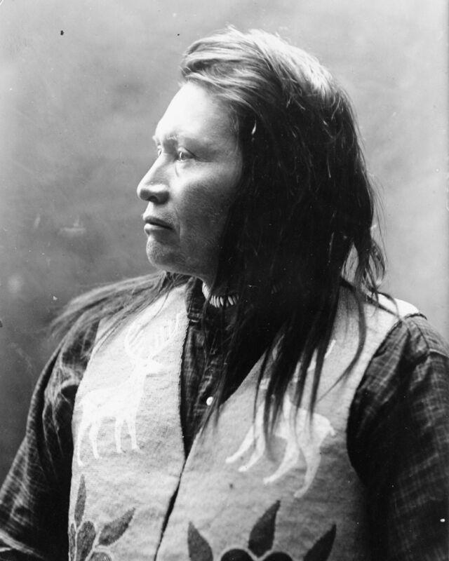 New 8x10 Native American Photo: Yellow Wolf, Nez Percé Indian Warrior - c. 1909