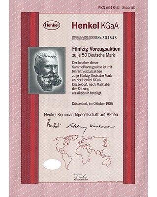 Henkel KGaA 50x50DM 10/1985
