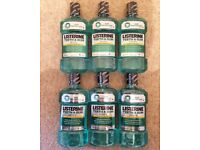 Listerine Mouthwash 6 x 500ml Bottles
