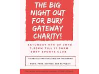 Big Night Out for Bury Gateway Charity