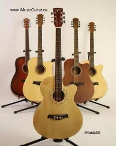 Acoustic Guitar 39 inch for beginners, students, smaller adults Brand New with bag, strings, picks