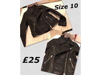 Heavy Leather Jacket
