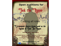 Open auditions for Jack The Ripper (theatre)