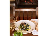 FANTASTIC CHEF DE PARTIE FOR TOP SOMERSET GASTRO PUB - THE TALBOT INN IN MELLS - IMMEDIATE START