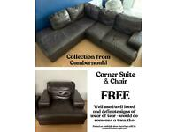 Corner Suite & Chair - FREE