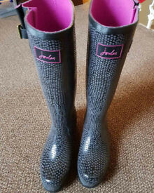 Joules Wellies Ladies Size 7 Brand New