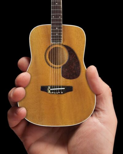 Axe Heaven Natural Finish Acoustic 1/4 scale Miniature Collectible Guitar