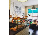 Independent cafe in NW3 looking for full or part-time barista/waiter