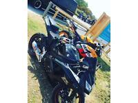 Suzuki GSXR rare all black model
