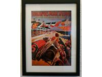 Framed print Indianapolis Motor Speedway