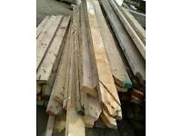 Timber yellow pine joists