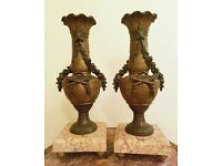 Antique French Urns - Pair