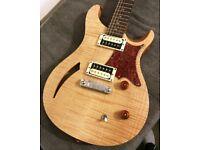 PRS SE Custom Semi Hollow Body guitar
