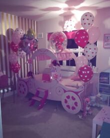 Princess carriage bed 1 year old was bought for £395