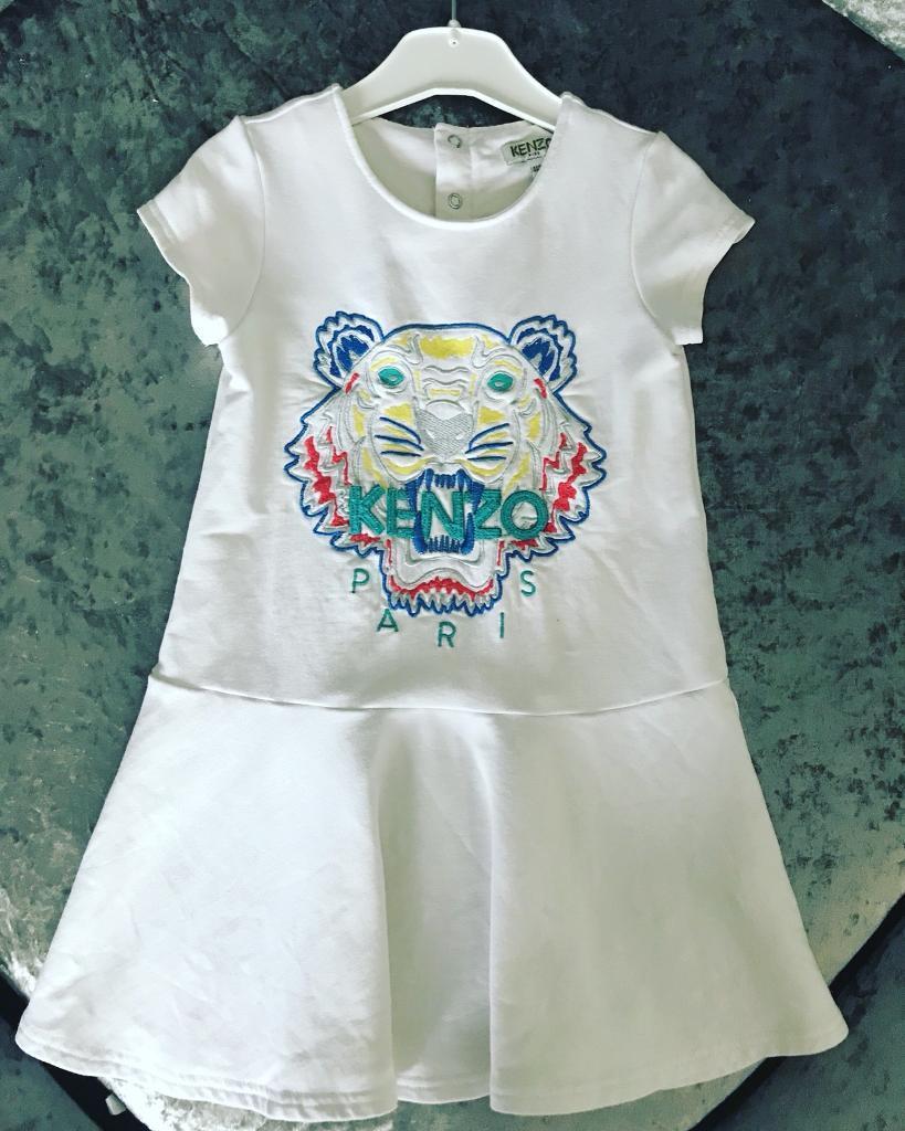 Kenzo Dress Age 4