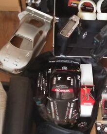 Rc car Tc4 carbon fibre RTR