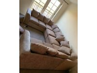 NEW U-SHAPE CHENILLE FABRIC 8 SEATER CORNER SOFA NOW AVAILABLE