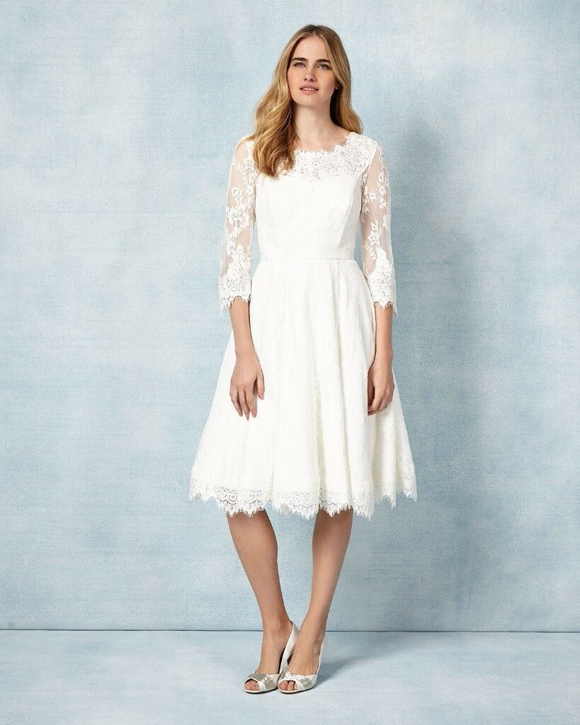 PHASE EIGHT CRESSIDA WEDDING DRESS, SIZE 14, ONLY WORN FOR A FEW ...