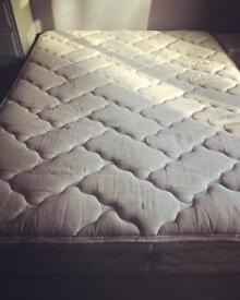 Free king size bed with mattress