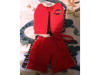 Disney pixar cars swim vest and,shorts