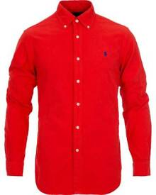 Polo Ralph Lauren Slim Fit Shirt - Size L (Red)