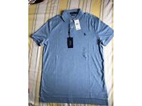 **** REDUCED **** Ralph Lauren Men's Polo Shirt T Shirt Casual Top RRP £75