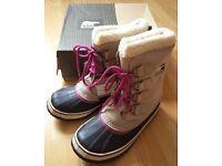 BNIB Women's Sorel Boots. 1964 Pac 2 Waterproof Snow boots RRP £140 UK 3.