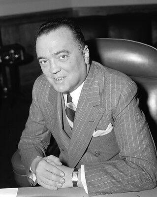 New 8x10 Photo: J. Edgar Hoover, Federal Bureau of Investigation (FBI)