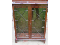 Reproduction Mahogany Furniture - Display Cabinet