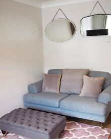Grey Sherbourne Heart of House 2 seater sofa.