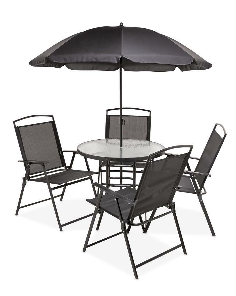 Garden table with umbrella and 4 chairs in stockport manchester gumtree - Garden table with umbrella ...