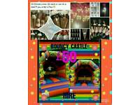 ***Bouncy castle hire**sweet cones***Buffets***