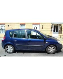 Renault Scenic Expression 16V Patrol 2005 Manual Blue Full MOT Low Mileage