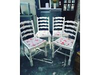 Vintage cath kidston chairs