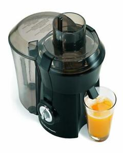 NEW Hamilton Beach 67601A Big Mouth Juice Extractor Electric Juicer, 800 Watt, Black
