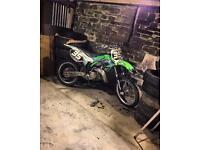 2000 Kawasaki kx125 scrambler motorcross bike