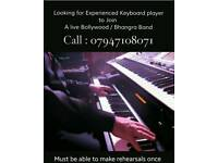 Keyboard player wanted to join a leading Bollywood/ bhangra band