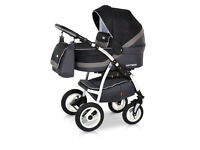 Pushchair 3in1 -new one Optima Eco line