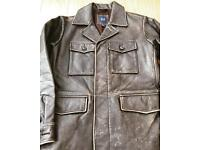 Men's Leather Jacket from GAP - Brand New