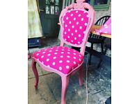 Louis style bedroom chair