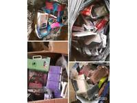 Joblot phone cases chargers and screen protectors