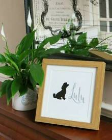 Personalised pet frames!