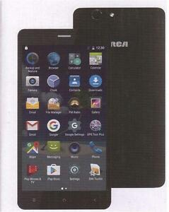 "RCA 6"" 4G LTE UNLOCKED ANDROID QUAD CORE SMARTPHONE – GSM QUAD BAND - BLACK - RLTP6067"