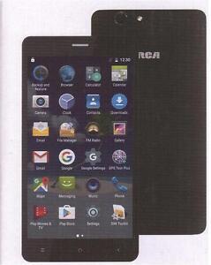 "RCA 6"" 4G LTE UNLOCKED ANDROID QUAD CORE SMARTPHONE – GSM QUAD BAND - BLACK - RLTP6067"