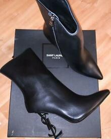 Ysl heel boots size 4